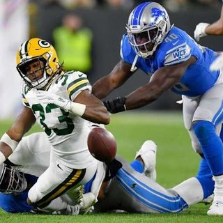 Lions Fall Late to Packers on Monday Night Football