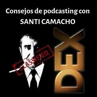 Consejos de podcasting con Santiago Camacho