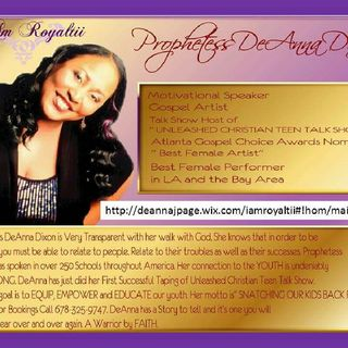 """APOSTLE DEANNA DIXON SINGING """" 2ND PART OF-I LEFT THE LORD"""""""