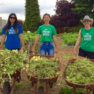 Alexa Pitoulis - Freshroots Urban Farm Society