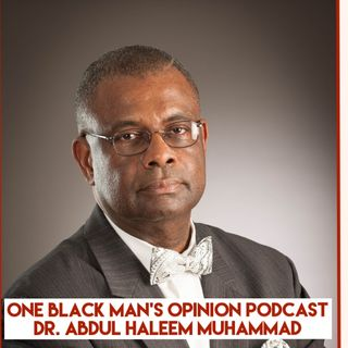 ONE Black Man's Opinion Podcast Episode 1 The Black Agenda: Getting Organized to Get Results