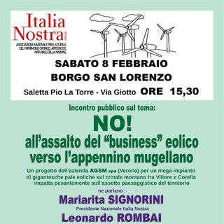 No Eolico nel Mugello - intervista a Mariarita Signorini
