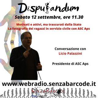 Licio Palazzini, Presidente ASC Conosciamo il servizio civile