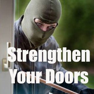 Strengthening Doors Against Break-ins