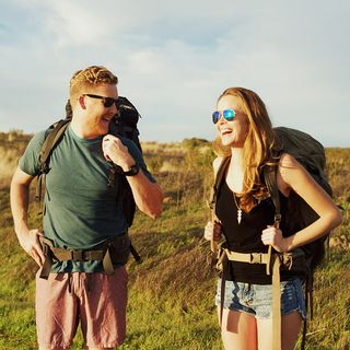 Gracie and Hugh - The Walk Across America - 2012