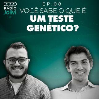 8. Você sabe o que é um teste genético?