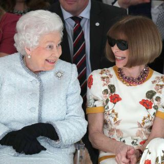 The Queen on the front row, Kate on the back foot - and latest on Meghan's dress