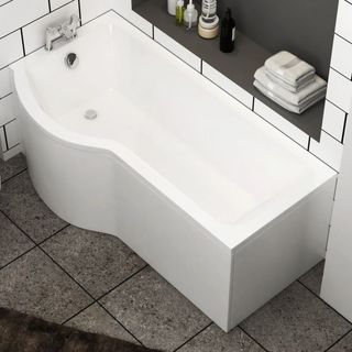Here is the Range of P shaped Bath for Your Washroom
