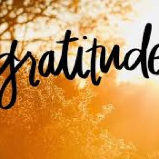 The Importance Of Practising Gratitude.