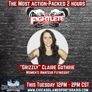 "WalkOutFC14 Amateur Women's Flyweight Title Contender ""Grizzly"" Claire Guthrie"