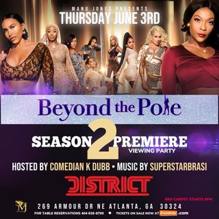 WE tv Beyond the Pole Cast Members Ms Dime, Gigi Macguire and Angel Kake speak on season 2