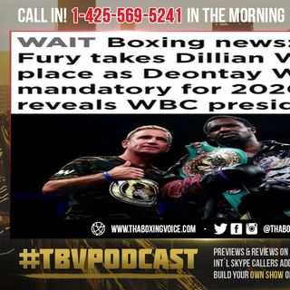 ☎️Tyson Fury Replaces Dillian Whyte as Mandatory Challenger for Deontay Wilder😳