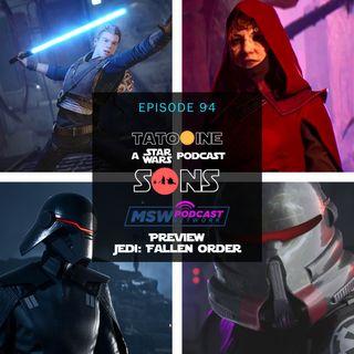 Preview of Jedi: Fallen Order!