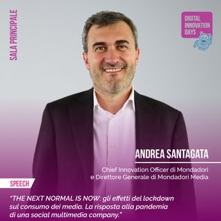 Andrea Santagata | Mondadori - The Next Normal is Now