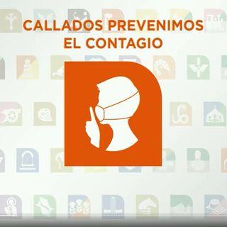 Lanza Metro campaña Callados prevenimos el contagio