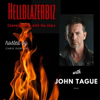 US actor John Tague talks to me about his career & more