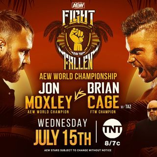 AEW Fight For the Fallen Review: Cody vs Sonny Kiss ll Vickie Guerrero Debuts ll Moxley vs Cage