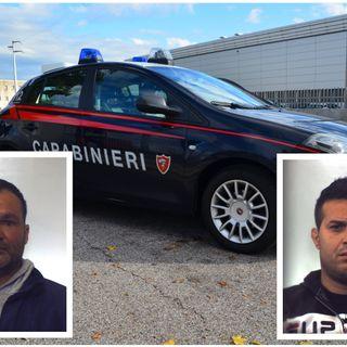 Raid multipli su auto in sosta in Altovicentino. Per i carabinieri due nomadi i responsabili