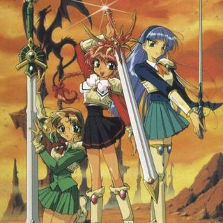 Magic Knight Rayearth - Una Porta Socchiusa ai Confini del Sole - Serie Animata, OAV e Manga