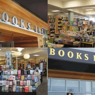 Crosby: Books Inc. in Berkeley