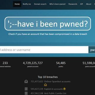 Attrezzi - Come controllare se l'account o email sono stati violati