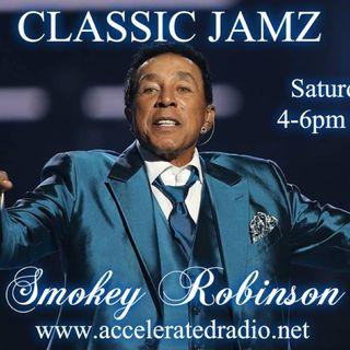 Classic Jamz *Tribute to Smokey Robinson* 2-24-18
