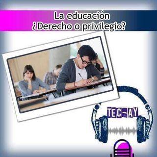 La educación, ¿derecho o privilegio?