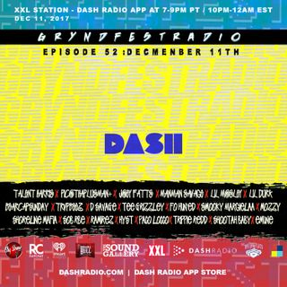 [12/11] @Dash_Radio #XXL : #GryndfestRadio #TakerOver Guest Djs Vol 52th #dinnerland #theearplugs