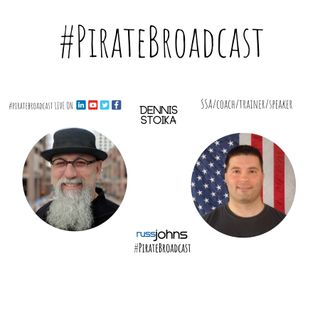 Catch Dennis Stoika on the #PirateBroadcast