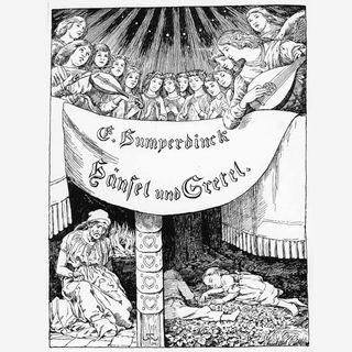 """""""Hänsel und Gretel"""", Opern-Uraufführung (1893)"""