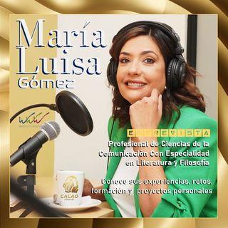 E16 María Luisa Gómez Destacada guatemalteca presentadora de TV y medios de comunicación.