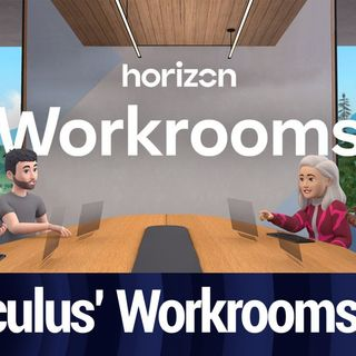 TNW Clip: Trying Out Oculus' Horizon Workrooms
