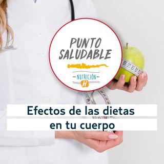 Dietas restrictivas   Punto saludable: efectos de un mal plan alimenticio