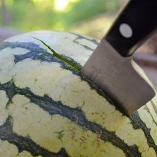 The 1st degree melon stabbing