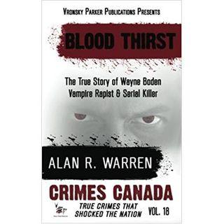 BLOOD THIRST-Alan R. Warren