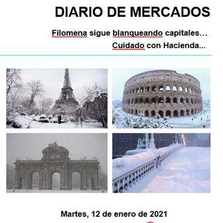 DIARIO DE MERCADOS Martes 12 Enero