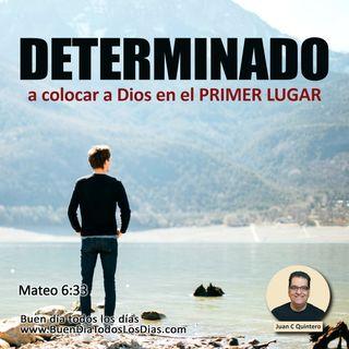 Determinados a hacer del Señor el primero
