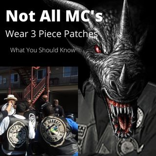 Not All Motorcycle Clubs Fly a 3-Piece-Patch