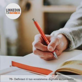 76-Definisci Ecosistema digitale su LinkedIn