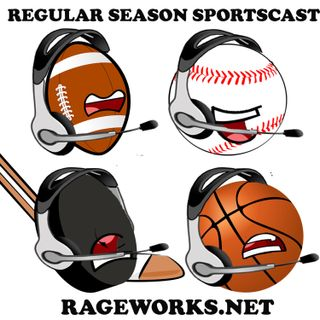The Regular Season Sportscast-Episode 132 | Fantasy Football and Other Stuff