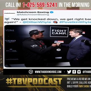 "☎️Povetkin vs Whyte Rematch Nov 21 🐺""We Get Knocked Down😴We Get Right back Up and Go Again❗️"""