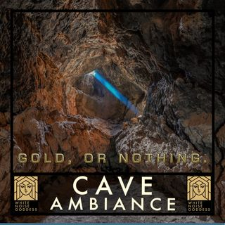 Cave Ambiance | White Noise | ASMR & Relaxation