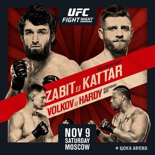 Preview Of UFC Fight Night 163 From Russia Headlined By Zabit Magomedsharipov Vs Calvin Kattar In Featherweight Division