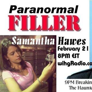 Samantha Hawes On Paranormal Filler