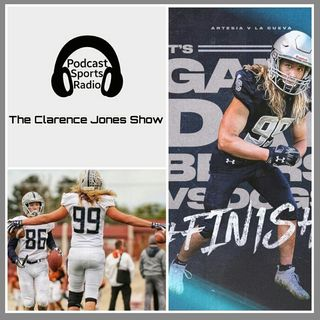 La Cueva High School 13-0 New Mexico 6A State Champions Senior TOP New Mexico DE KENDRICK MILFORD Interview