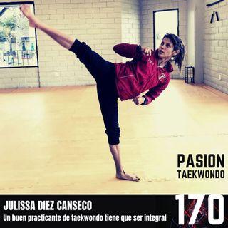 """Julissa Diez Canseco """"Un taekwondoista debe conocer el arte marcial completo"""""""
