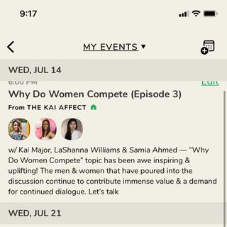 Why Do Women Compete (Episode 2) 7-7-21