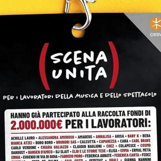 Scena Unita: il concerto in streaming ha raccolto 400mila euro