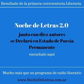 Noche de Letras 2.0 #32, Estado de Poesía Permanente