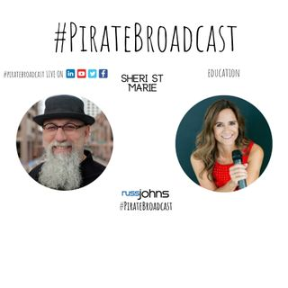 Catch Sheri St  Marie on the PirateBroadcast
